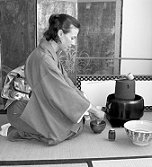Laurel in a Tea Ceremony moment